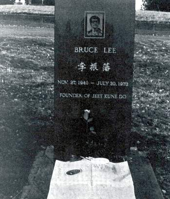 """When I die, these guys wil probably do somthing I won't like. They'll probably build monuments, have impresive creeds, hang pictures  of me in the halls and bow to me"" - Bruce lee (1940/1973)"